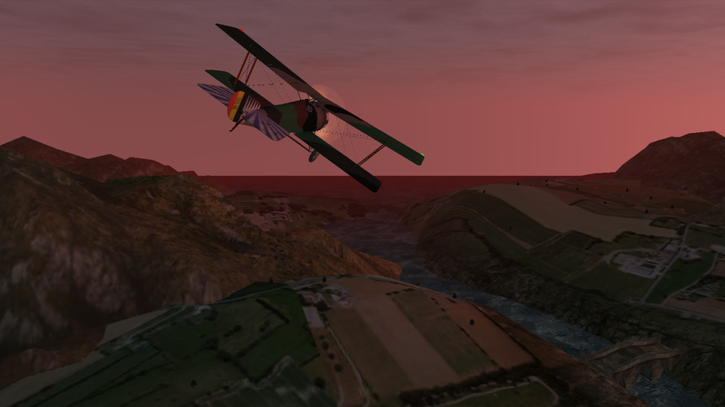 Mobile Flight Similator Screenshot
